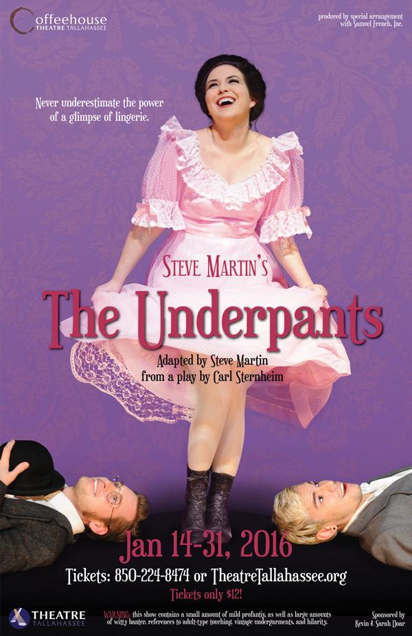 "Steve Martin's ""The Underpants"""